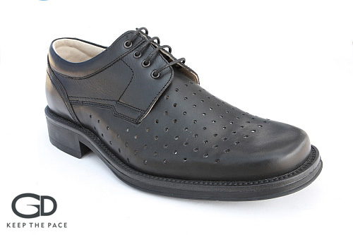 Genuine Waterproof Leather 1.4 - 1.6mm Thick| Perforated Front Leather - Breathing| Leather Lining| Flexible & Resistant Sole| Sizes 39-45