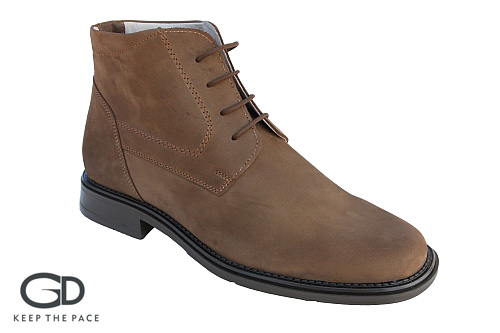 Genuine Waterproofed Buffo Leather | Natural Leather Lining| Flexible & Resistant Sole| Sizes 39-45