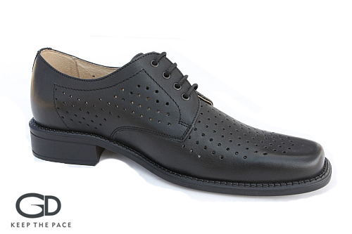 Genuine Waterproof Leather 1.4 - 1.6mm Thick| Perforated Side & Front Leather - Breathing| Natural leather lining| Two Layer Sole Flexible & Resistant| Sizes 39-45