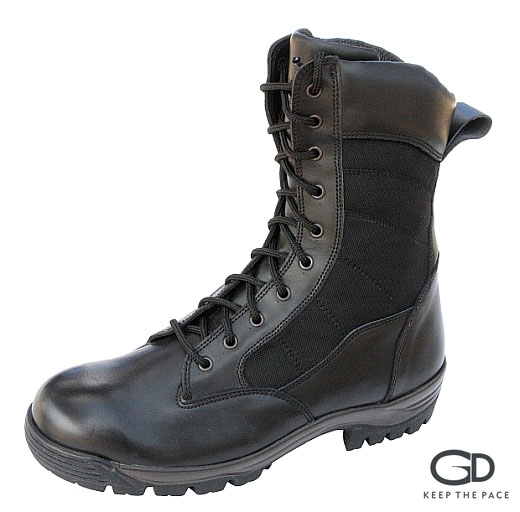 Genuine Leather -  Waterproofed| CORDURA® Black Camouflage Fabric| Sympatex® Lining| Antistatic & High Resistance Sole| Confort Soft Colllar| Sizes 39 - 45